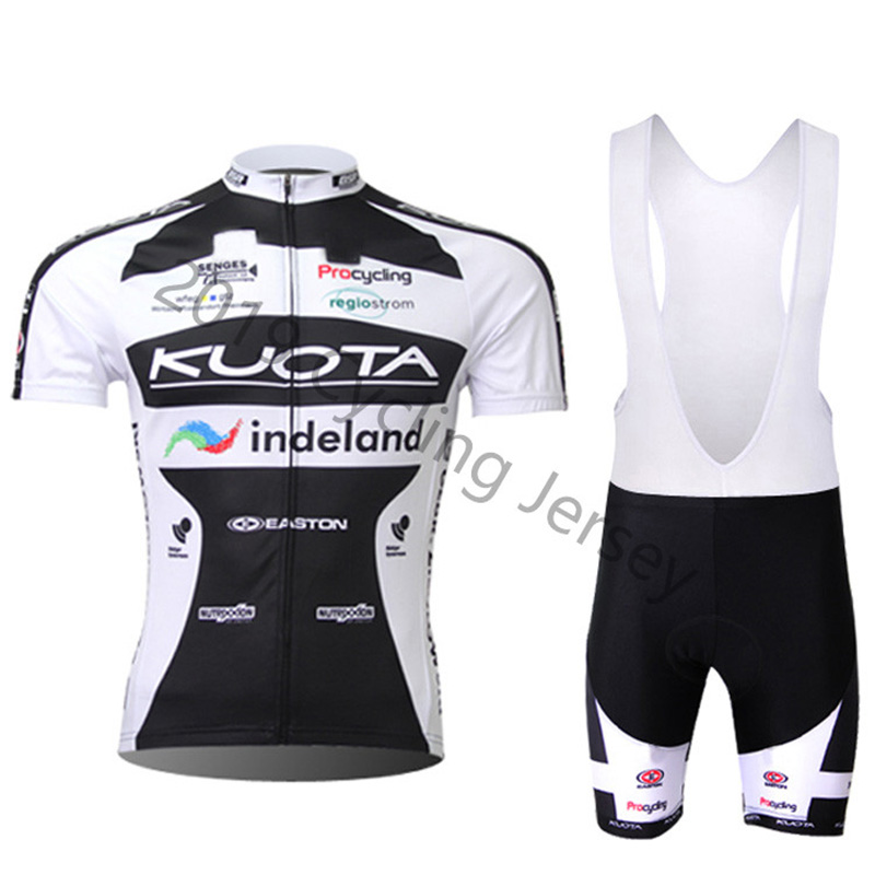 2019 KUOTA Cycling Clothing Bike Jersey Quick Dry Bicycle Clothes Mens Summer Team Cycling Jerseys Bike Shorts Set Ropa Ciclismo