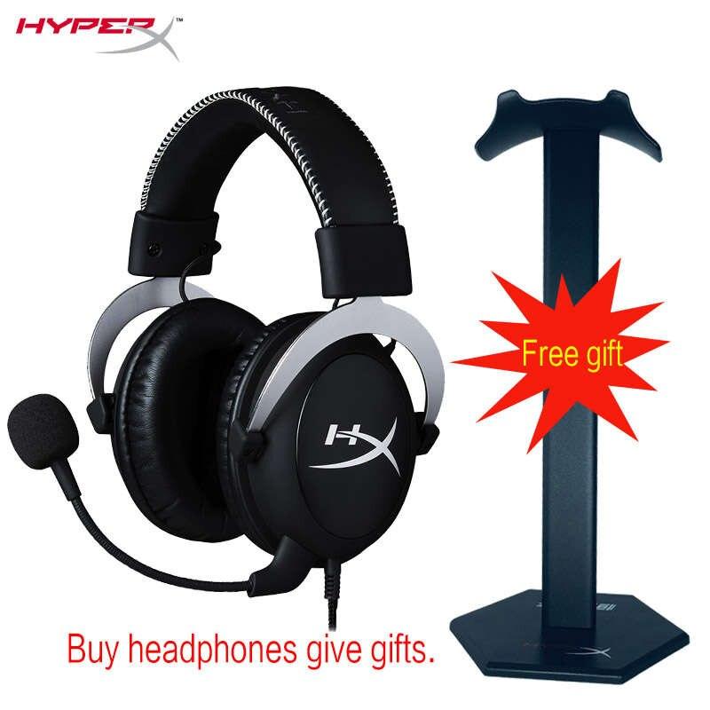 HyperX Nuage casque de jeu Automatiquement bruit annulation casque Amovible bruit-annulation microphone contrôle du volume