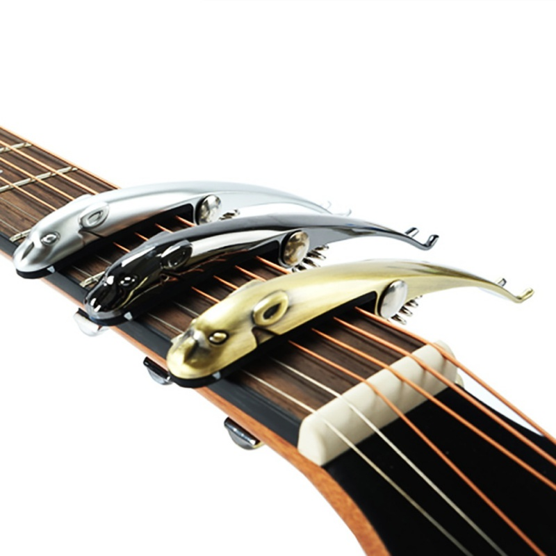zinc alloy cheetah silica gel guitar capo for 6 string classic electric guitar tuning clamp. Black Bedroom Furniture Sets. Home Design Ideas