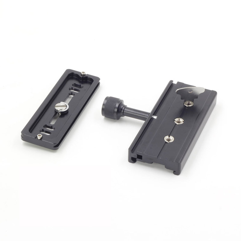 XILETU QR-120 Clamp Adapter For Quick Release Plate 1/43/8Arca SWISS RSS Tripod 120mm