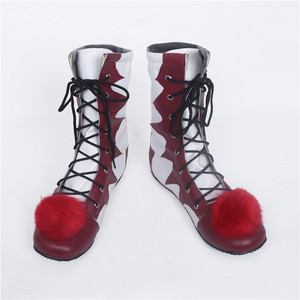 Image 4 - 2018 Hot Sale Stephen Kings It Pennywise Cosplay Shoes and Mask Horrible Clown Boots Custom Halloween Christmas Accessories