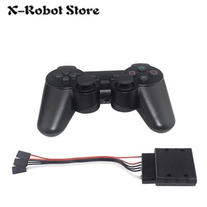 Image 2 - 6 24 32 Channel Robot Servo Motor Control Board & PS2 Controller + Receiver for Hexapod manipulator Mechanical Arm Bipedal Robot
