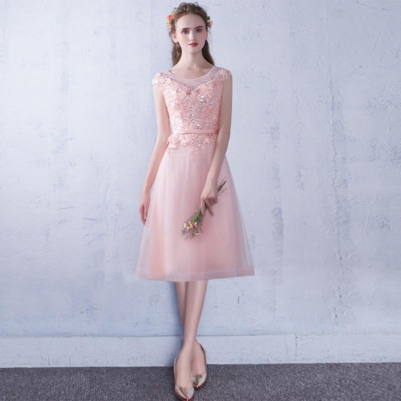 Robe De Soiree 2019 Pink & Red Lace Up Sleeveless Evening Dress Vestido De Festa Prom Dresses Party Dresses Tailor Custom Made