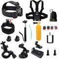 Ir pro acessórios gopro hero3 hero4 gopro montagem para capacete de bicicleta câmera de ação sj4000 sjcam sj5000 4 k acessórios