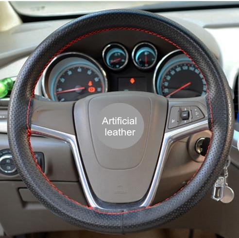 Cubierta duradera para el volante del automóvil con agujas e hilo / - Accesorios de interior de coche - foto 6