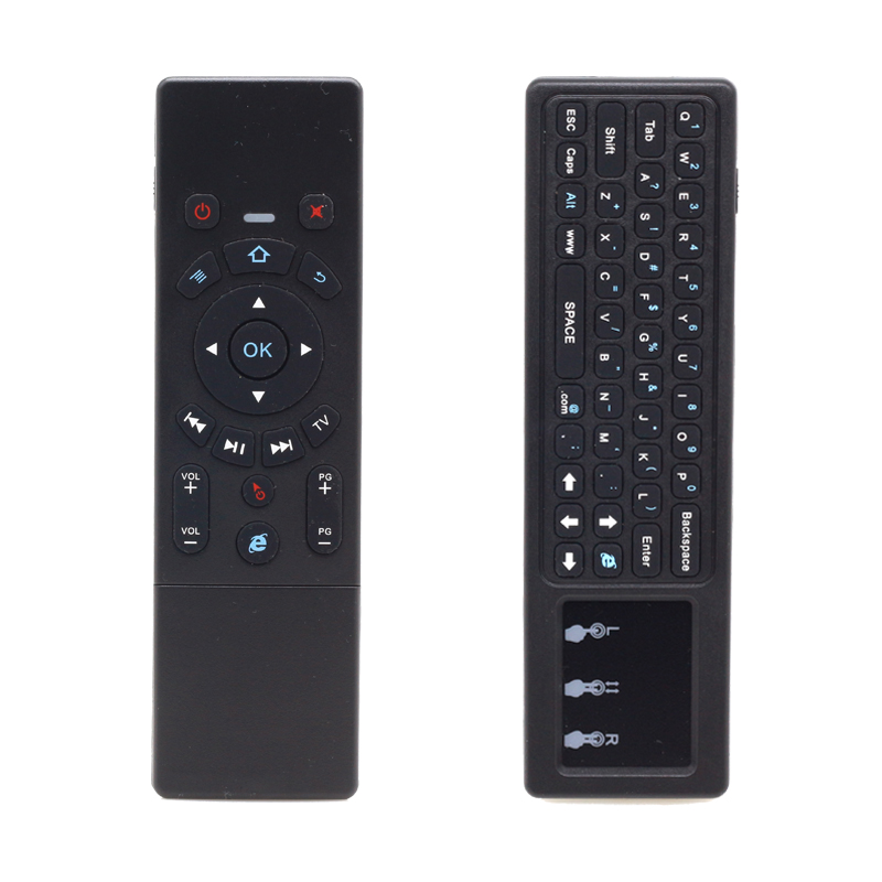 [100pcs/lot]  JS6 2.4G Mini Wireless Keyboard Air Mouse With Touchpad For Android TV Box, Mini PC, Projectors, Laptops