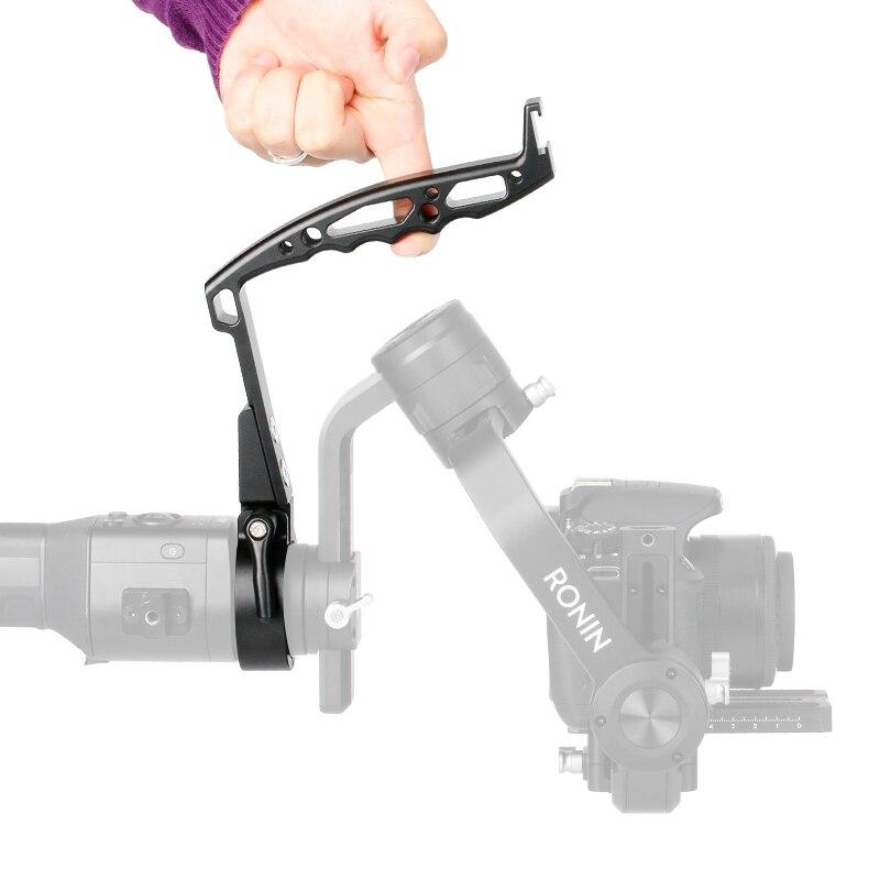 AgimbalGear DH-09 Handheld Camera Stabilizer Gimbal Accessories for Dji Ronin S Zhiyun Crane 2 V2 Plus Ring Mount Handle Grip AgimbalGear DH-09 Handheld Camera Stabilizer Gimbal Accessories for Dji Ronin S Zhiyun Crane 2 V2 Plus Ring Mount Handle Grip