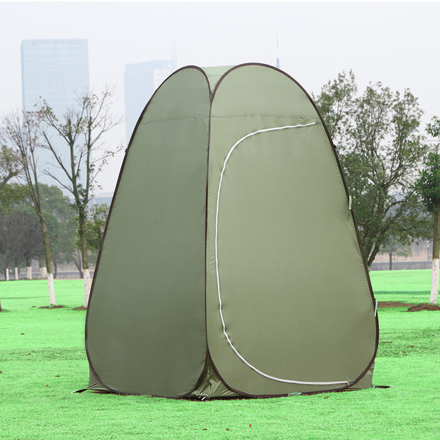 2017 Outdoor Dressing Changing Toilet Tent Auto Open Portable C&ing Beach Bath Shower Privacy Photo Lightweight : outdoor toilet tent - memphite.com