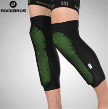 ROCKBROS Sports Knee Pads Outdoor Riding Cycling Bicycle Protect Pad Ball Game Leg Support Hiking Camping Sport Safety