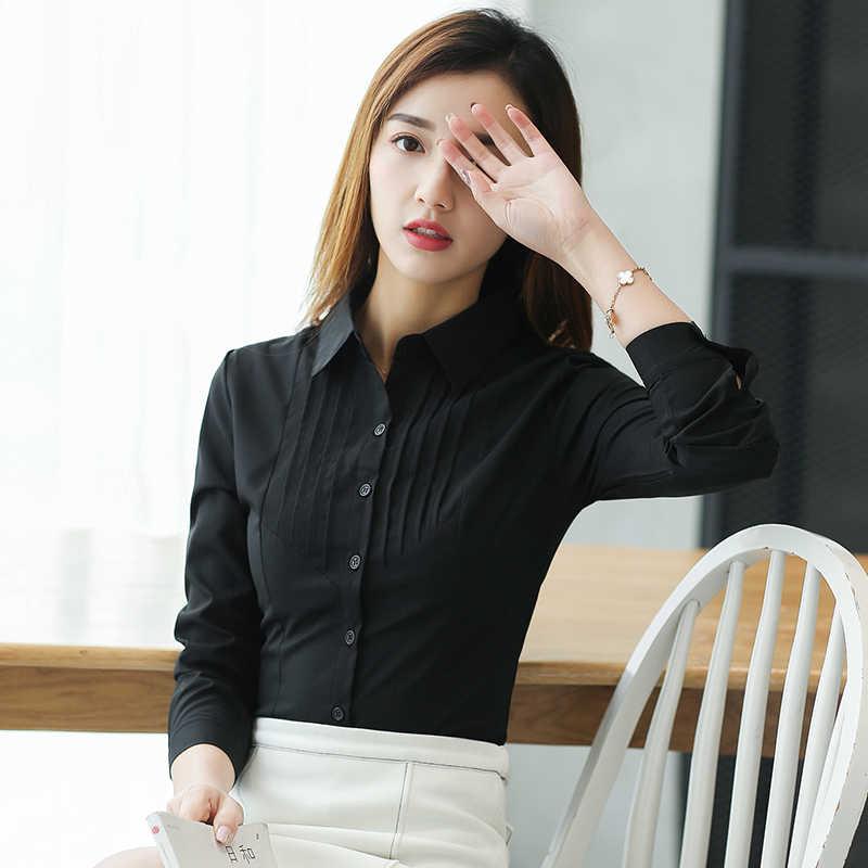 女性ブラウスレディーストップスとブラウストップスシャツ女性 2018 シャツピンク Blusa Feminina プラスサイズ XXXL/ 5XL シャツ