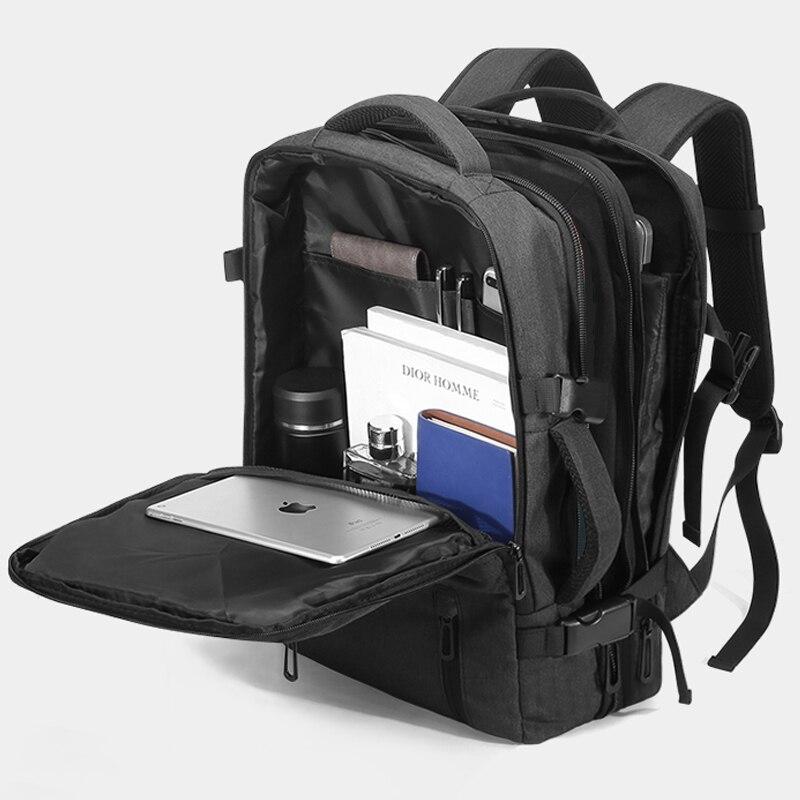 Extérieur 40L grand sac à dos ordinateur portable 17 ''15.6 pouces Mochila sac de voyage hommes hommes sacs à dos femmes sac à dos Anti-vol homme femme sacs