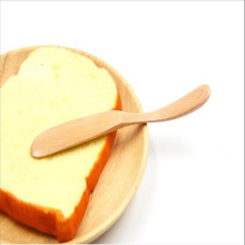 Multifunctionele Houten Crème Jam Applicator Mes Cake Decoratie Keuken Bar Benodigdheden Goedkoopste Prijs Van Onze Site