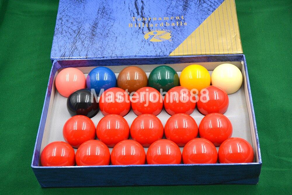 Коробка 22 шт. бассейн Бильярдные Футбольный Мяч Комплект Стандартный 52.5 мм 2 1/16 дюйма Blue Box Бесплатная доставка Оптовая продажа
