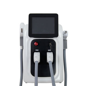 Image 1 - 2 in 1 Professional OPT SHR IPL Fast Hair Removal Machine Nd Yag Laser Tattoo Removal Elight Skin Rejuvenation Machine