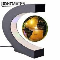 Electronic Magnetic Levitation Floating Globe Antigravity LED Light Gift Popular Home Decor Dropshipping
