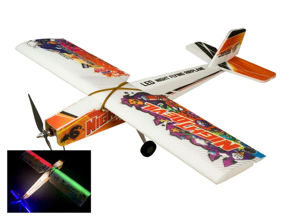 EPP Airplane EPP 3D EPP Plane EPP Foam EPP RC EPP 3D Plane Night Flying RC Airplane Night Devil 1000mm Pre-installed LED System шапка женская guahoo 71 0751 bk