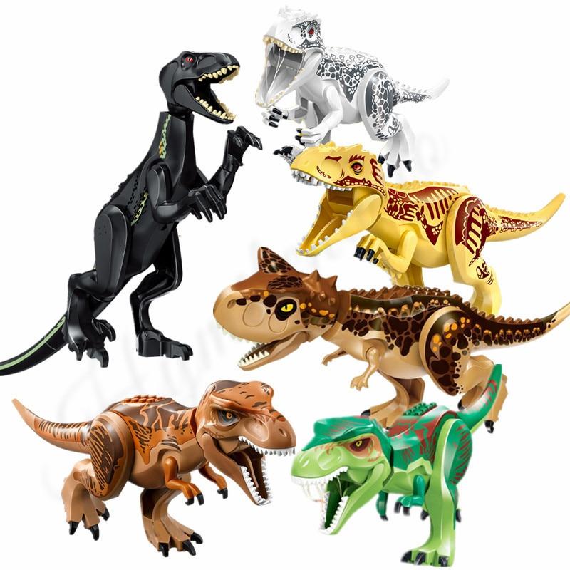 Carnotaurus Raptor BLUE Dinosaurs Action Figures Kids Toys Model Christmas Gift