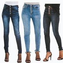 H 2019 Hohe Taille Jeans Push-Up Dünne Jeans Frau Vintage Stretch Jeggings  Jeans für Frauen Straße Tragen Trend Jean femme. 202ac18e30