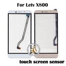 Черный Белый Сенсорная Панель Для Пусть V X800 Сенсорный Экран Дигитайзер Стекла Сенсорная Панель Нет ЖК Замена ТП