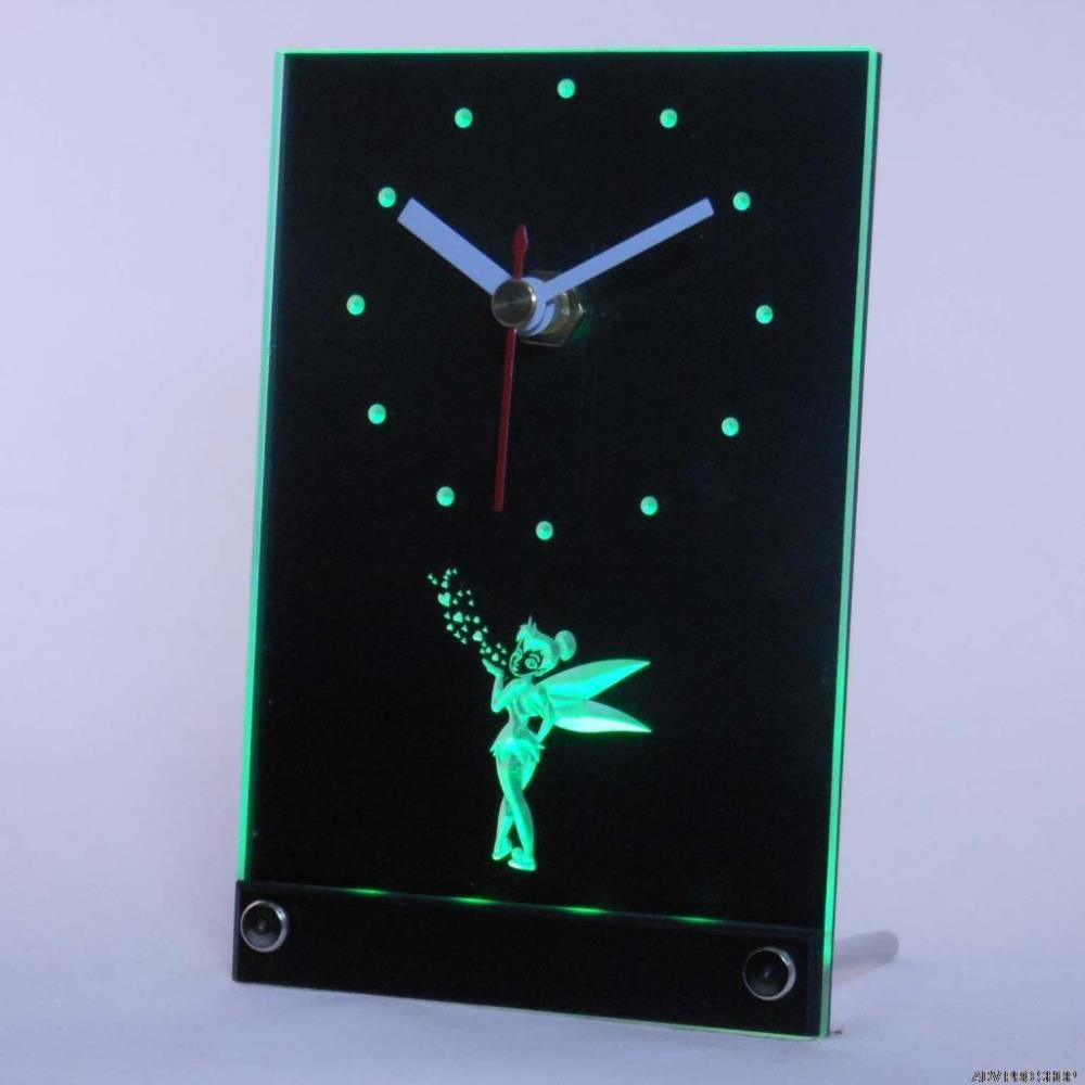 Buy tinkerbell clock and get free shipping on aliexpress amipublicfo Image collections