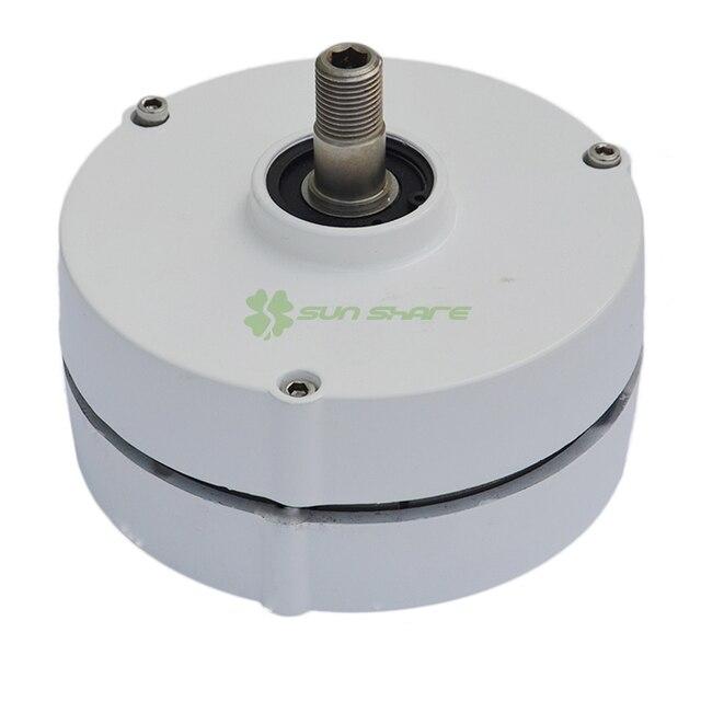 d82080ec1e9 AC 12 V 24 V 400 w Alternador 3 fases do gerador de ímã permanente ...
