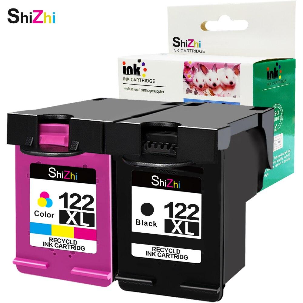 Чернильный картридж SHIZHI совместимый для HP 122 XL 122xl для HP Deskjet 1000 1050 1510 2000 2050 2050s 3000 3050A 3052A 3054A принтер