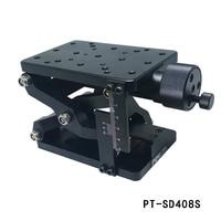 PT SD408S Manual Lab Jack Optical Lift Manual Optical Sliding Table