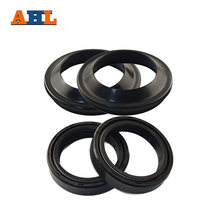 AHL 35 48 11 Motorcycle Front Fork Dust and Oil Seal for Honda CB750 Yamaha RZ350 Suzuki RM125 Kawasaki EX250F Ninja 250R(China)