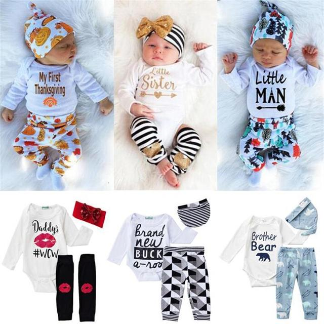 128dd23539d4 Baby Boy Designer Clothes Newborn Toddler Bodysuit Baby Climbing Jumpsuit Baby  Boy Clothes Summer and Tiny Cottons Autumn 2018