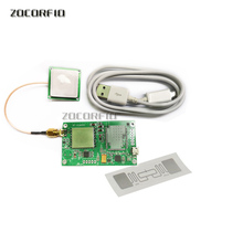 UHF RFID reader module USB/RS232/TTL interface with uart UHF Passive 6C UHF reader module SDK+MEDO+Documentation+Antenna