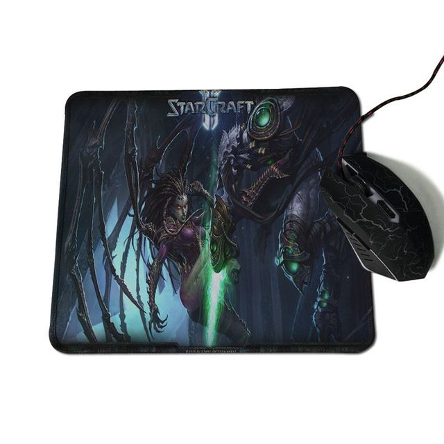 Yinuoda Beautiful Anime Starcraft Rubber Mouse Durable Desktop Mousepad Size for 180*220 200*250 250*290 300*600 and 400*900*2mm 1