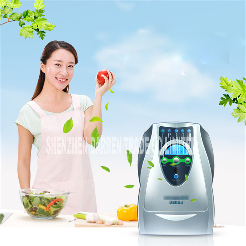 JY-B ozone machine household oxygen machine fruit and vegetable detoxification in addition to formaldehyde odor ozone generator himoskwa household ozone generator fruit vegetable food detoxification washer tableware disinfectant cleaning machine 220v