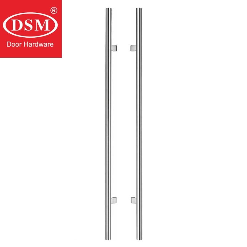 1000 мм матовый 304 Нержавеющаясталь современные входные двери ручка PA-104-32D для деревянных/Стекло/металлический каркас двери