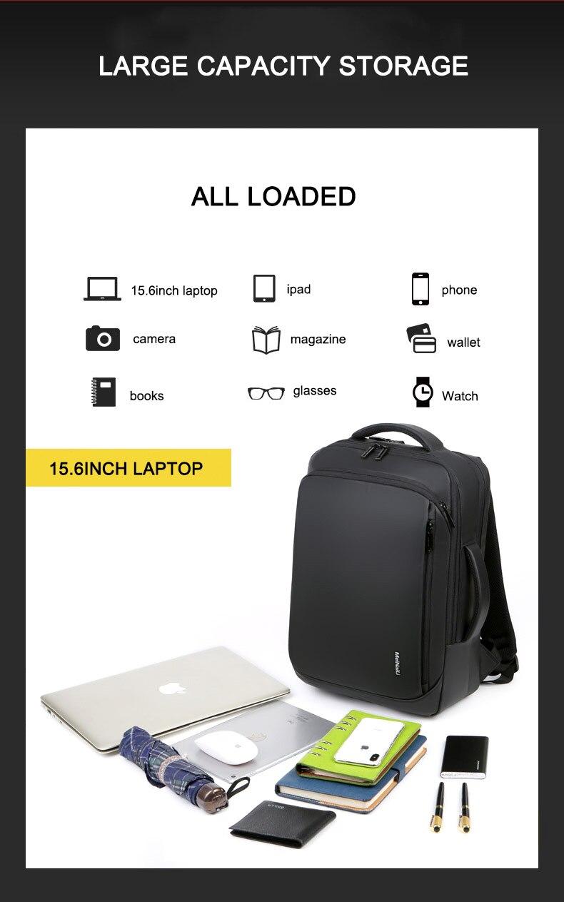Sac à dos pour ordinateur portable multifonctionnel 2