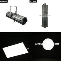 (4lot/CASE)Gobo projector Fresnel led stage spot light fresnel led 300w led zoom profile light 200W follow spot dmx flight case