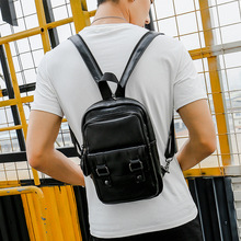 Multi-functional Korean Version Of Small Backpack Mens Fashion Trend Leisure Simple
