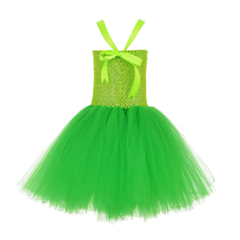 Princess DRESS Tinkerbell Tutu Dress outfit Birthday Costume special ...