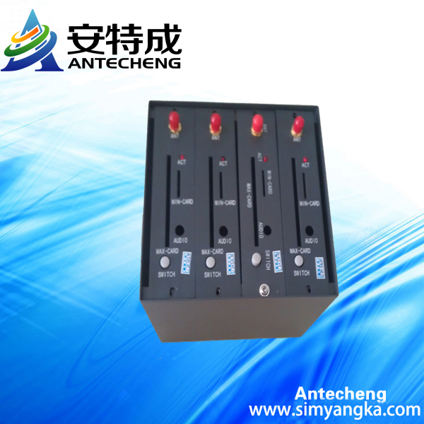 NEW ARRIVER mini 4 ports wavecom usb gsm sms modem Q2303