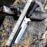 Voltron ao ar livre faca de sobrevivência  de alta dureza faca reta  selvagem autodefesa faca  portátil sharp faca de sobrevivência na selva