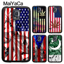 MaiYaCa US Pakistan Puerto Rico Flag Phone Case For Samsung Galaxy S9 S8 S10 Plus Lite S5 S6 S7 edge Note 9 8 5 4 TPU Cover