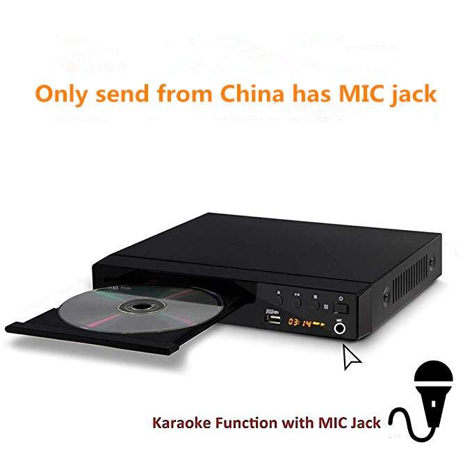 LONPOO Mini USB RCA HDMI reproductor de DVD región libre varios idiomas OSD DIVX DVD reproductor de CD RW reproductor de pantalla LED DVD MP3 - 3