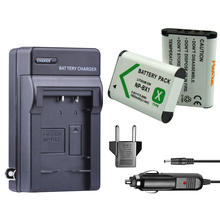цена на 2x NP-BX1 NPBX1 NP BX1 Camera Battery + Car Charger for Sony DSC RX1 RX100 AS100V M3 M2 HX300 HX400 HX50 HX60 GWP88 AS15 WX350