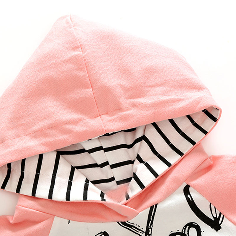 Tem Doge Baby Clothing Sets Spring Autumn New Newborn Baby Infant Girls Clothes Long Sleeve 2PCS Casual Hooded Baby Boy Clothing 1