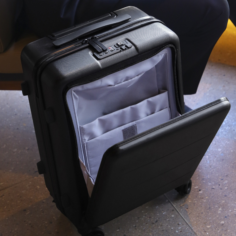 SEABIRD 2024 inch Aluminum frame PC travel luggage carry on box pull rod suitcase trolley suitcase rolling luggageSEABIRD 2024 inch Aluminum frame PC travel luggage carry on box pull rod suitcase trolley suitcase rolling luggage