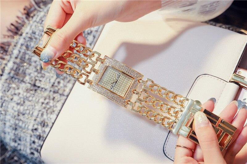 NEW G & D Relógios das Mulheres