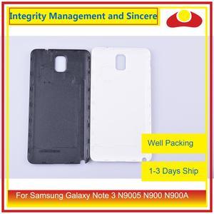 Image 4 - الأصلي لسامسونج غالاكسي نوت 3 N9005 N900 N900A N900T N900V N900S بطارية مبيت الباب الخلفي الغطاء الخلفي حافظة الهيكل