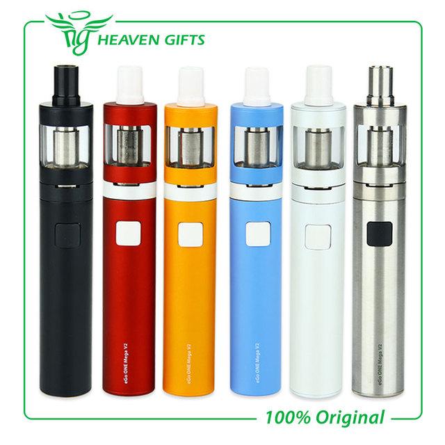 100% original joyetech ego uno mega v2 cigarrillo electrónico kit con 2300 mAh Batería 4 ml Atomizador Tanque ego uno mega V2 vaporizador