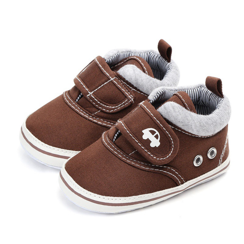 Spring Boys Baby Shoes Boy Non-slip Footwear Infant Boys Crib Shoes Baby Boy First Walkers Cotton Shoes 0-12M