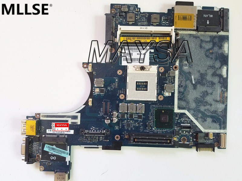 8885V 08885V CN-08885V Laptop Motherboard Fit For DELL Latitude E6410 Motherboard LA-5471P DDR3 100% Working 40cpq040 to 247