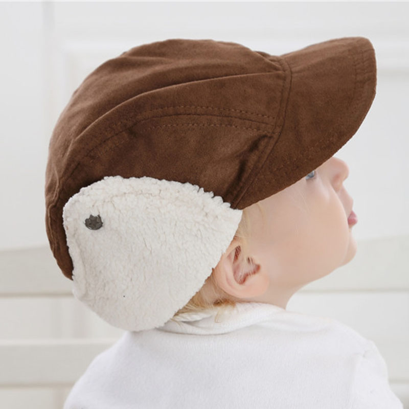 Winter Fall Infant Boys Earlap Hat Cap Warm Lined Toddler Boys Winter Hat  Baseball Caps-in Hats   Caps from Mother   Kids on Aliexpress.com  d57885627ecc